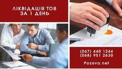 Ликвидация ООО в Киеве за 24 часа. Услуги по экспресс-ликвидации.