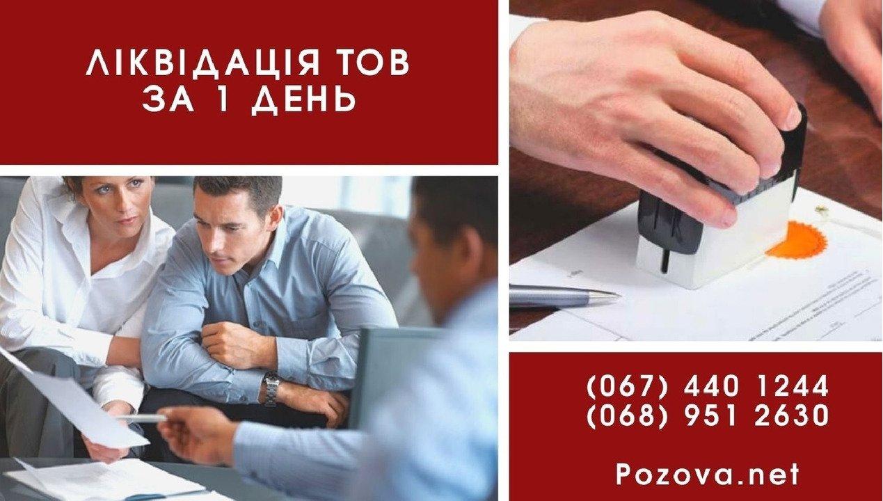 Швидко ліквідувати підприємство в Києві. - 1/1