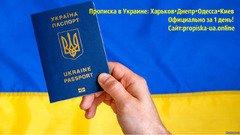 Прописка:Харьков, Днепр, Одесса, Николаев и Киев