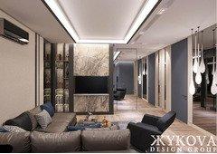 Дизайн интерьера квартир. Авторский надзор. Полная комплектация объекта. 10$ м2