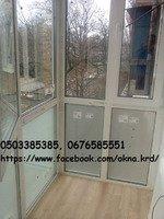 Остекление балкона, лоджии, балконы под ключ