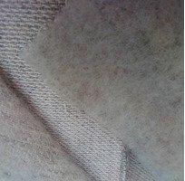 Конопляна тканина з вовной.