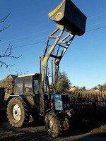 Фронтальный погрузчик КУН GENERAL 1600 к тракторам МТЗ, ЮМЗ, Т-40