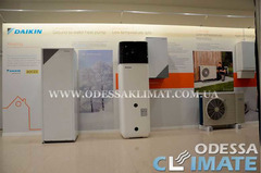 Тепловые насосы Daikin Одесса установка тепловых насосов