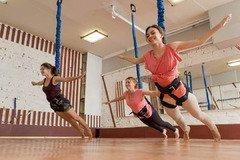 ФлайФит (Bungee) = фитнес, полет и развлечение, три в одном
