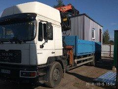 Перевозка грузов, продажа бытовок