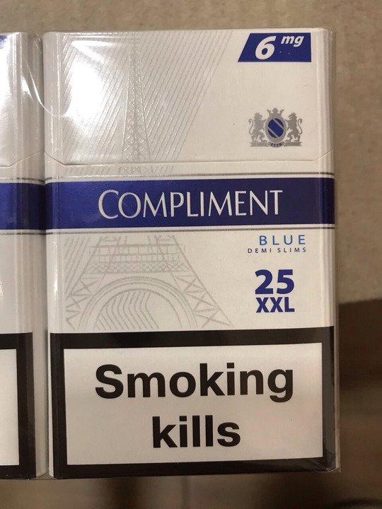 """Сигареты """"Compliment  (25)"""" Мелкий, крупный опт. - 2/3"""