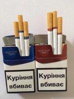Сигареты мелким и крупным оптом LD и LD Monte Carlo красные и синие (320$)