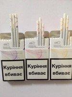 Продам оптом LD super slims (Amber, Violet, Pink) сигареты (380$)