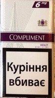 Сигареты Compliment violet оптовая продажа (400$)