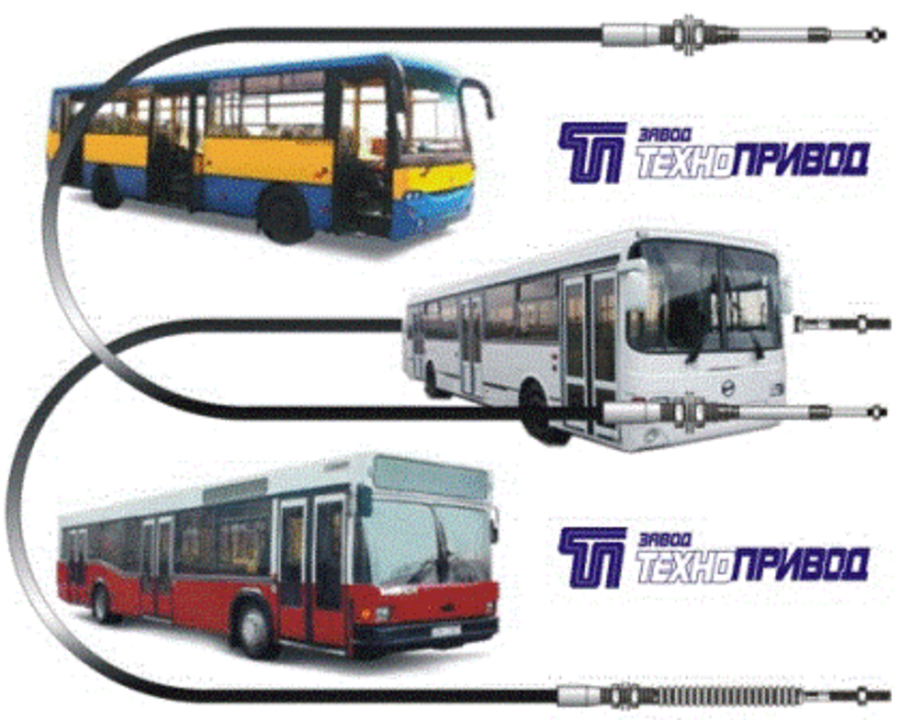 Тросы управления :кпп, тнвд, гст, сцепления, газа, для автобусов, автомобилей, комбайнов, тракторов - 2/6