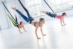 Флай-Фит (Bungee fitness) - Клёво, модно, современно