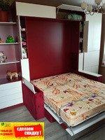 Кровать трансформер, встроенная кровать, откидная кровать