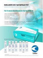 Експрес тести для швидкої діагностики коронавірусу Covid -19 Cellex Inc