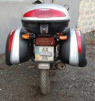 Багажники, боковые рамки, защитные дуги на мотоцикл.
