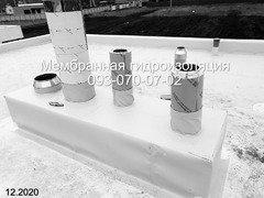 Изоляция крыши мембраной ПВХ в Никополе