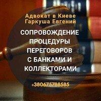 Адвокат по банковским делам в Киеве.